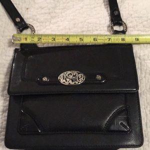 Brighton crossbody black purse